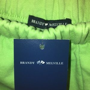 New with tags Brady Melville jogger pants